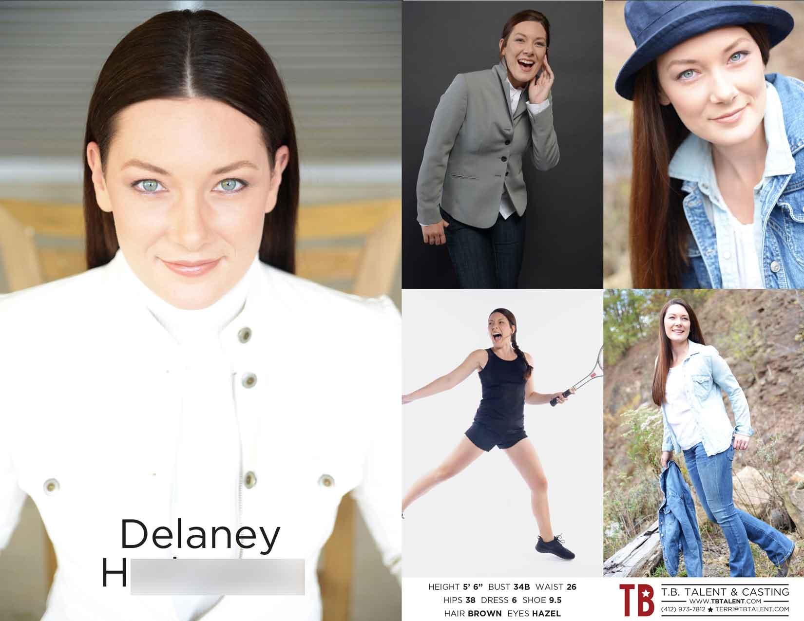 Talent Delaney H. TBTalent.com