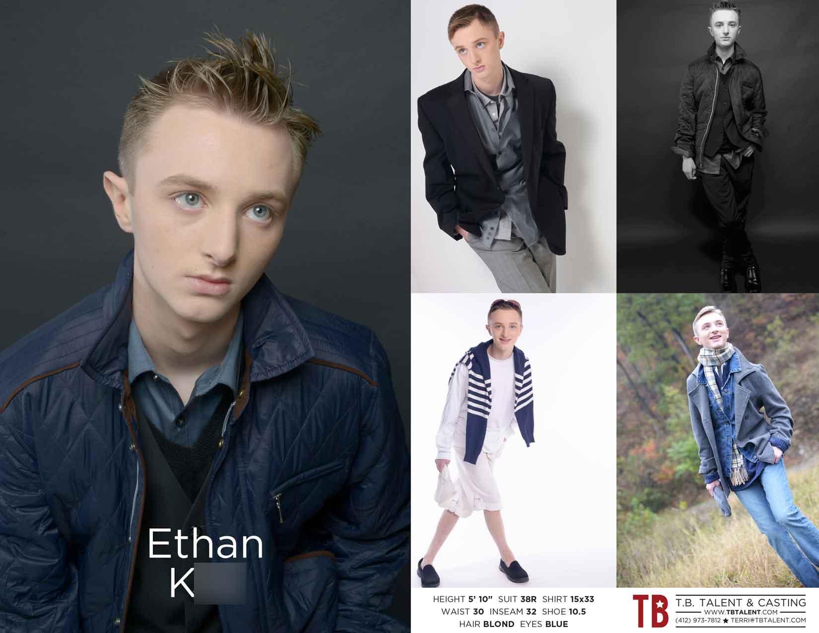 Talent Ethan K. TBTalent.com